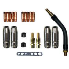 20 Teile//Satz Ersatzteile Set Schwanenhals MB15//150 Düsenhalter Isolierhülse Neu