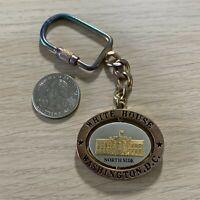 White House Washington DC Travel Souvenir Spinner Keychain Key Ring #37973
