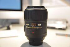 Nikon AF S MICRO NIKKOR 105 f/2, 8 G IF ED
