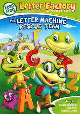 LeapFrog: Letter Factory Adventures - The Letter Machine Rescue Team (DVD, 2014)