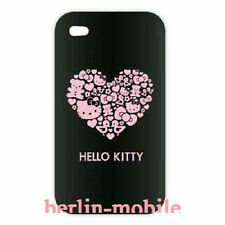 Original HELLO KITTY Herz Case Tasche Hülle Etui Faceplate Apple iPhone 4 4S OVP