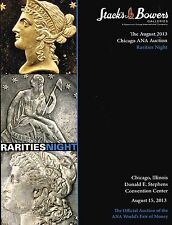 STACK'S & BOWERS GALLERIES CHICAGO ANA AUCTION  RARITIES NIGHT CATALOG BOOK