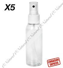X5 Empty Spray Bottle Dropper 100ml Plastic Botella Vacía Tracked Shipping