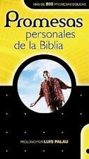 Promesas Personales de la Biblia = Personal Promises of the Bible (Spanish Editi