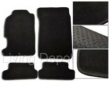 Fit For 1997-2001 Honda Prelude Floor Mats Carpet Front & Rear Nylon Black