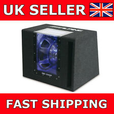 "Alpine SBG-1244BP 12"" Sub in Band Pass Enclosure Car Subwoofer 800 Watts Peak"