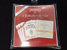 Pirastro Tonica New Formula *4/4 Full* Violin Medium Set - Gold Label E ball end