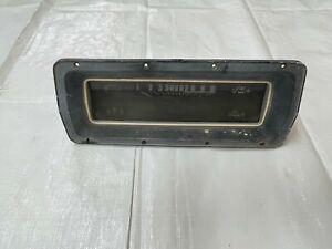 1968 Ford Dash Gauge Cluster Instrument Panel Trim Speedometer Fuel Gas