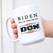 Prank Gag Gifts Idea White Ceramic Joe Biden 2020 Bye Don Novelty Presents