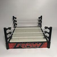 WWE RAW Superstar Breakable Wrestling Ring Mattel 2015 - RARE