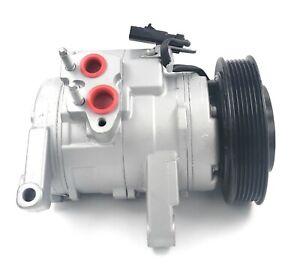 A/C Compressor Fits Chrysler Aspen Durango Commander Grand Cherokee 4.7L & 3.7L