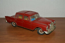 Mercedes Benz 1:12 Car toy plastic tin West Germany vintage very rare
