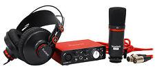 Focusrite SCARLETT SOLO STUDIO MK2 192KHz USB 2.0 Audio Interface+Mic+Headphones