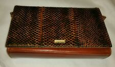 Beautiful Vintage by A.Jones & sons Genuine Snake Skin and real leather Bag.