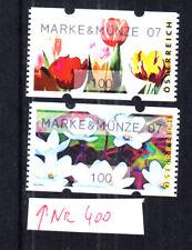 """2007, Österreich, postfr. **, AWZ,ATM,100 C-Paar,""""MARKE&MÜNZE 07"""";"""