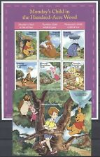 Walt Disney, Pooh - Grenada Grenadinen - 1 KB, 1 Bl. ** MNH