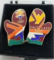 2002 Salt Lake City Winter Olympics Pinback