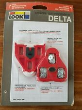 LOOK KEO Delta Red Cycling Clipless Road MTB Bicycle Pedal Cleats NOS