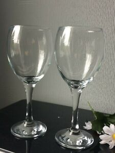 Large Clear Red Wine Glasses Balloons Set of 2 Drinking Cups 300ml (4)