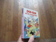 BIBLIOTHEQUE ROSE OUI OUI et le magicien  enid blyton 1985 11