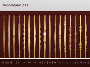 Geländerstäbe Treppensprossen Treppen Geländer Edelstahl Sprosse Staketen 83 cm