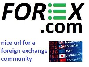 ~FOREX.com Foreign Exchange Community Domain Name