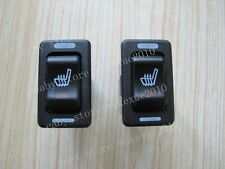 Seat heater switch * 2 pcs, rectangle hi-off-lo,used for replace the damaged one