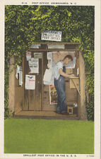Grimshawes NC * Smallest Post Office in U.S. ca. 1940 * Jackson Co.