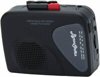 Walkman Cassette Player Recorders Am FM Radio Lightweight Built-in Speaker USB