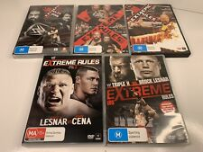 WWE DVD Bundle - Extreme Rules (2012-2016) 5 DVDs