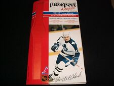 1986-87 PRO-SPORT AUTOGRAPH CARD °  TORONTO No. 17°WENDEL CLARK<>COLLECTION ITEM