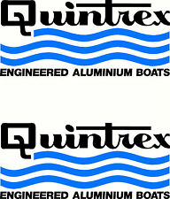 Quintrex 2 Colour Set, Fishing Boat Sticker Decal Marine Set of 2