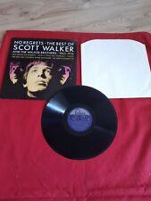 SCOTT WALKER No Regrets The Best Of 65-76 FONTANA UK Original A1/B1 VINYL LP VGC