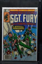 Sgt Fury and His Howling Commandos #164 Marvel 1981 Stan Lee LOW PRINT RUN 7.5