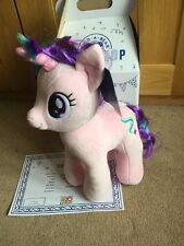 BNIB BNWT BAB Build A Bear MY LITTLE PONY STARLIGHT GLIMMER box - certificate