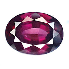 5.80 CT NICE AND RAVIISHING OVAL SHAPE 100% NATURAL RHODOLITE GARNET