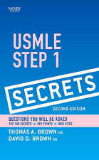 USMLE Step 1 Secrets by Dave D. Brown, Thomas A. Brown (Paperback, 2008)