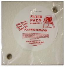 Buon Vino Super jet Filter Pads--# 2 polishing filtration