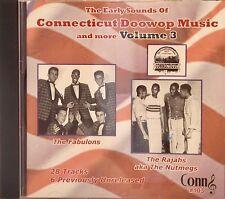 CONNECTICUT DOOWOP MUSIC AND MORE - Volume #3 - 28 VA Tracks