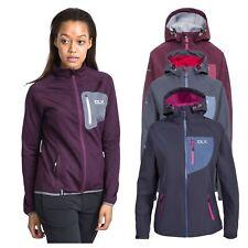 DLX Ronda Womens DLX Softshell Jacket in Grey & Purple