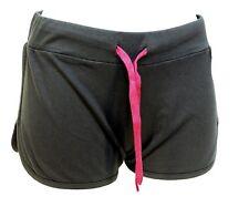 Pantaloncini Vintage Esercito Francese Blu Navy Silky Hot Pants Retro Sport Corsa Nuovo