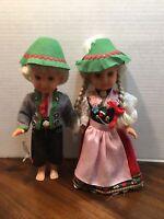 German BOY+Girl Seppl Dolls by Sweetheart  Made in Germany