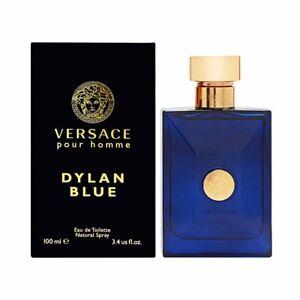 Versace Dylan Blue Eau De Toilette, 100Ml for Men free shipping new in box