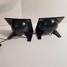 RARE, Sony Walkman Travel Angle Desk Mini Stereo Speaker System, Black, Portable