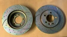 LAND ROVER DISCOVERY 3 TDV6 2.7 EBC GROOVED AND DIMPLED FRONT BRAKE DISCS DA4475