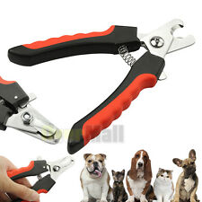 Stainless Steel Pro Nail Clipper Cutter Scissor For Pets Dog Cat Bird Guinea Pig