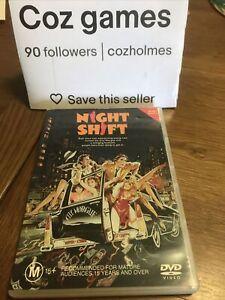 Night Shift Dvd Australian Release 1982 Henry Winkler / Michael Keaton comedy