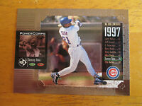 Rare! 1998 UD3 Non Die-Cut TEST PROOF No Serial #/2000 ERROR Sammy Sosa #38 Cubs