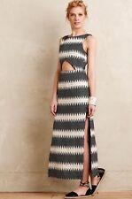 Neue Mara Hoffman Moriko Midi Kleid Größe 2