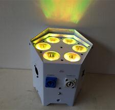 DJ Freedom Par Tri-6 Wireless Battery RGBWA UV  LED Wash Light Effect w/Remote